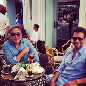 Sig, Murilo, Georgina Brandolini e toda a turma de glamurettes em Capri