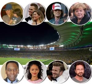 De Rihanna a Jamie Oliver, as celebs que estarão no Maracanã neste domingo
