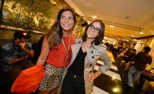 Encontro de glamurettes no Fashion Trends: aos cliques!