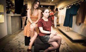 Lilly e Renata Sarti armam coquetel para apresentar coleção de verão