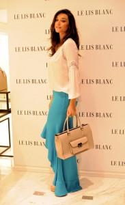 Le Lis Blanc lança coleção e convida atriz Débora Nascimento