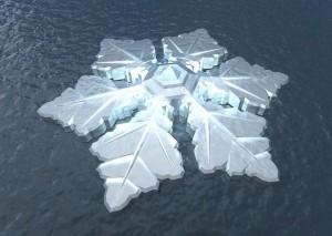 Hotel na Noruega terá forma de floco de neve e vista para a aurora boreal