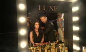 Nova linha de maquiagem da Avon faz sucesso na Festa Glamurama por Avon Luxe