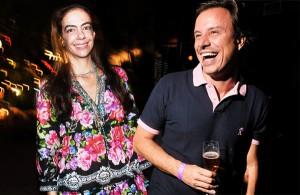 Joana Vieira e Fabio Justos: festa em dose tripla no Espelho
