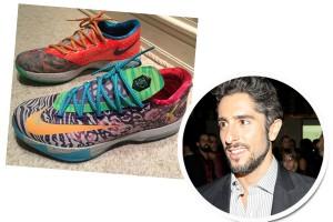 Marcos Mion, André Vasco e mais rapazes mostram seus sneakers do coração