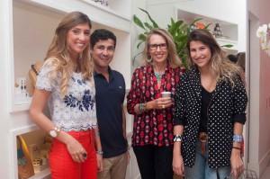 Maria Frering e mais glamurettes em lançamento no Rio