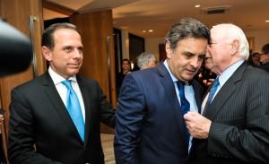Cúpula do PSDB se reúne na casa de João Doria Jr.