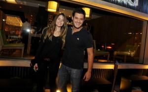 Pedrinho Alcântara celebra aniversário no restaurante Nakka