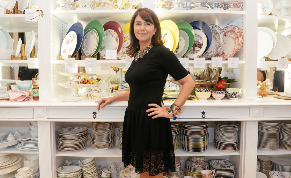 b6186ca7e3ef7 Tania Bulhões abriu loja e lançou coleção no Shopping Iguatemi ...