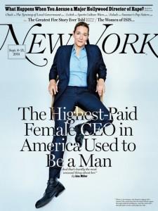 CEO trans é a mais bem paga do mundo. E capa de revista