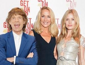 Mick Jagger e Jerry Hall deixam o passado de lado em evento. Entenda!