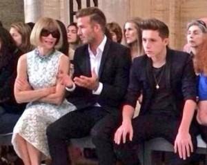 Teria Anna Wintour dado a bênção à estilista Victoria Beckham?