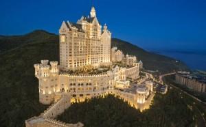 Novo hotel de luxo da China foi inspirado em castelos de contos de fadas