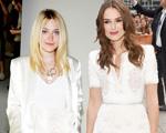 Deu branco: Keira Knightley e Dakota Fanning apostam no look white