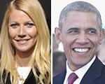 Gwyneth Paltrow abre sua casa em LA para Barack Obama