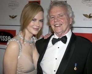 Nicole Kidman vive drama pessoal com a morte de seu pai
