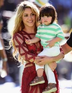 Shakira anuncia o sexo do seu segundo filho com Gerard Piqué