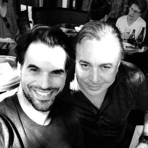 Sig Bergamin e Murilo Lomas rumo à Bienal dos Antiquários de Paris