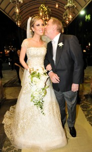 Marcos Maria e Giovanna Teixeira se casam com festão em São Paulo