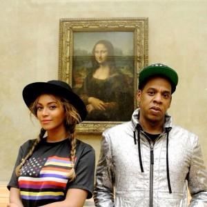 Beyoncé, Jay Z e Blue Ivy dão um rolê pelo Louvre. Vem!