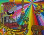 Após 4 anos coberto, mural da dupla OsGemeos volta a Nova York