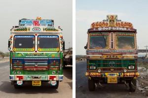 Fotógrafo americano registra os inusitados veículos das estradas da Índia