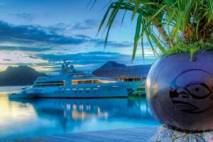 Mordomia à beira-mar: conheça hoteis de luxo que têm estacionamento para iates