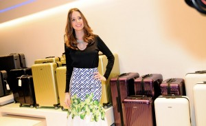 Glamurettes se jogam no happy hour da Rimowa no Jardins