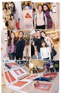 LYCRA® instala cenário no Shopping Eldorado para tirar fotos divertidas