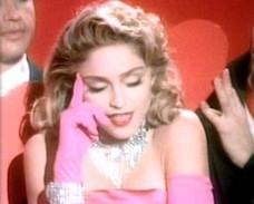 Peças de roupa usadas por Madonna vão a leilão em Beverly Hills
