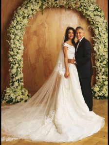 Vem ver mais fotos do casamento de George Clooney e Amal Alamuddin