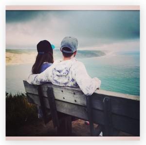 Só love: Justin Timberlake às boas com Jessica Biel na Nova Zelândia