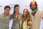 Stella Jacintho e Pedrinho Braun encerram o DJ School no Audi Lounge
