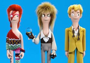 Estúdio de animação cria bonecos de famosos do cinema e da música
