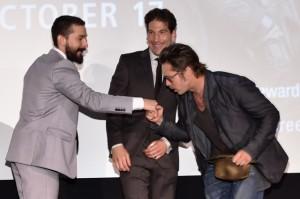 """Brad Pitt se rende aos """"encantos"""" de estrela de Hollywood. Quem?"""