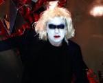 Bú! Cacá de Souza registra festa animada de Halloween em NY
