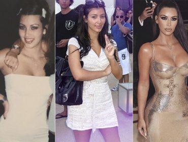 No aniversário de Kim Kardashian, 11 looks que mostram sua evolução fashion