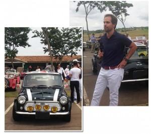 Fernando Schaefer conta a história de seu Mini Cooper na Quinta da Baroneza