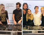DJ School termina com festa do Glamurama e Agência Fishfire no espaço Audi Lounge