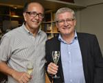 David Bastos recebe chef de cave da Perrier-Jouët em jantar