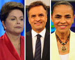 Tá na moda! Consuelo Blocker analisa o estilo de Dilma, Marina e Aécio