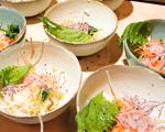 Receita de chef: salada de raízes de Fabio Koyama para harmonizar com Karavelle