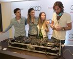Pedro Braun e Stella Jacinto: de volta às aulas do DJ School