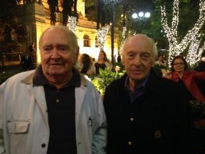 Gregorio Kramer e Attilio Baschera comemoram os 15 anos de Pátio Higienópolis