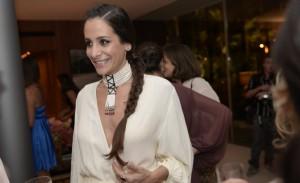 Paula Raia e Fernando Altério: jantar em homenagem a Geraldo Rocha Azevedo