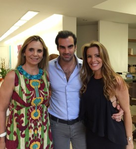 Silvia e Alexandre Furmanovich armam almoço em Belo Horizonte