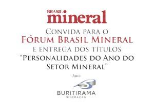 Poderosos do setor mineral recebem prêmio em São Paulo
