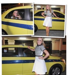Angélica foi de táxi, ficou 15 min, mas falou sobre revival e playback