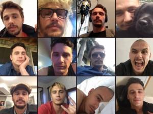 James Franco estrela calendário 2015 só com selfies – que pode ser seu!