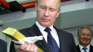 Vladimir Putin torna Rússia o maior comprador de ouro do mundo